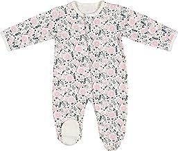 Magnetic Me Footie Pajamas 100/% Organic Cotton Baby Sleepwear Quick Magnetic Fastener Sleeper Serengeti Safari Animal 0-3 Months