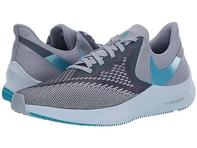 Nike Air Zoom Winflo 6 (Obsidian Mist/Blue Lagoon/Half Blue) Men