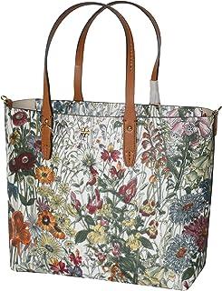 Tory Burch Kerrington Small Zip Tote Leather Women's Handbag Melody Floral