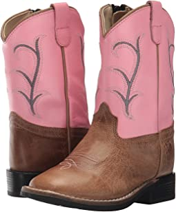 Old West Kids Boots - Broad Square Toe (Toddler)