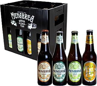Menabrea | Porta birre da 12 bottiglie + selezione mista Menabrea 33cl