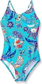 Kanu Surf Girls' Melody Beach Sport 1-Piece Swimsuit