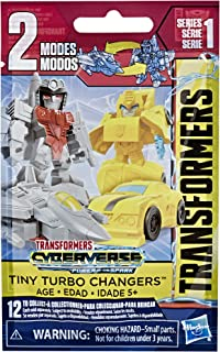 Transformers Toys Cyberverse Tiny Turbo Changers Series 2 Blind Bag Action Figures - for Kids Ages 5 & Up, 1.5