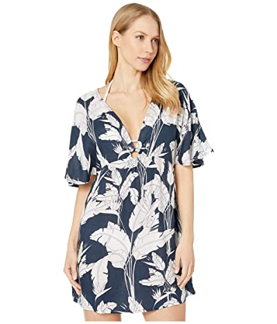 Roxy Summer Cherry Dress (Mood Indigo Flying Flowers) Women