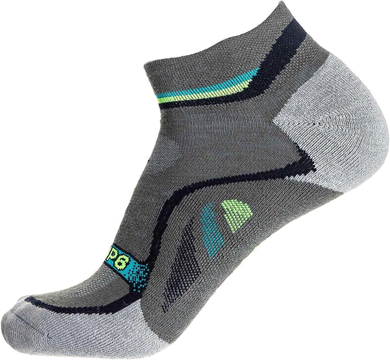 GRIP6 Merino Wool Socks Mens | Ankle Wool Hiking Socks