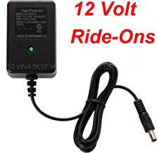 SHENGLE 12V Charger for Kids Ride On Car, 12 Volt Battery Charger for Best Choice Products Wrangler SUV Kid Trax Dynacraft Electric Ride-Ons Accessories
