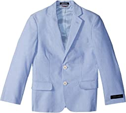 Yarn-Dyed Oxford Blazer (Big Kids)