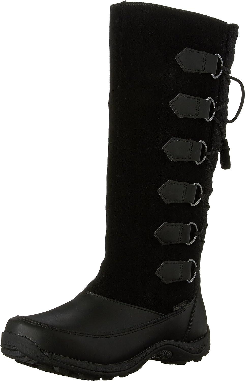 Baffin Women's Chamonix Mid Calf Boots, Black, 10 M US