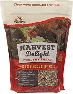 Manna Pro Harvest Delight, Poultry Treat with Whole Grains, 2.5 lb