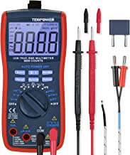 Tekpower Smart Meter TP5000 6000 Counts True RMS Multimeter with RS232 connection, Bar Graph and Clip