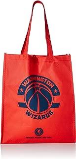 Washington Wizards Printed Non-Woven Polypropylene Reusable Grocery Tote Bag