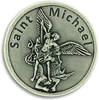 Lot of 3 - St.Michael Serve and Protect Patron Police Officer Pocket Token Charm Coin Catholic Christian