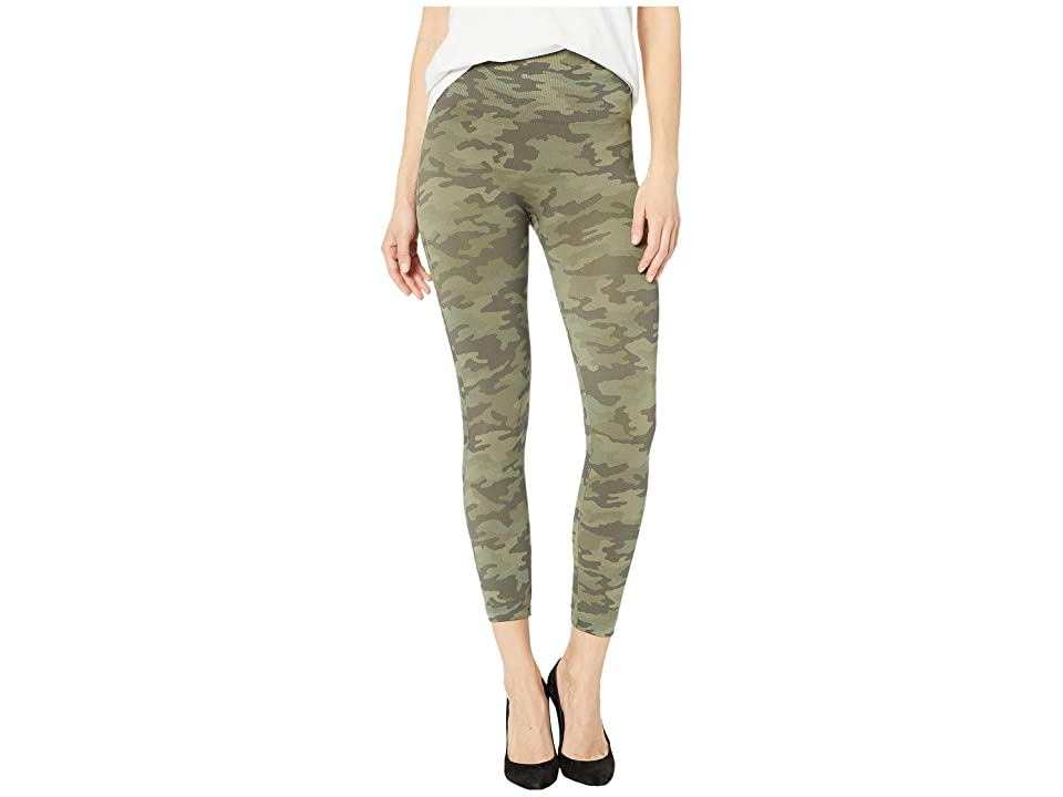 Spanx Look At Me Now Cropped Leggings (Desert Camo) Women