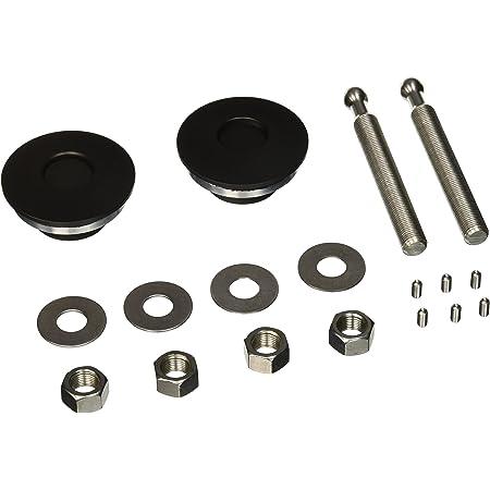 Quik-Latch Products QL-50-LP//BP Black Cerakote Finish Low Profile Quick Release Hood Pin Kit