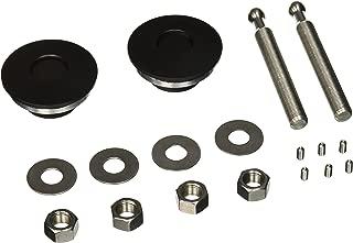 Quik-Latch Products QL-50-LP/BP Black Cerakote Finish Low Profile Quick Release Hood Pin Kit