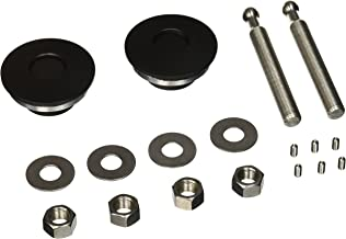 Quik-Latch Products QL-50-LP/BP Black Cerakote Finish Low Profile Quick Release Hood Pin Kit