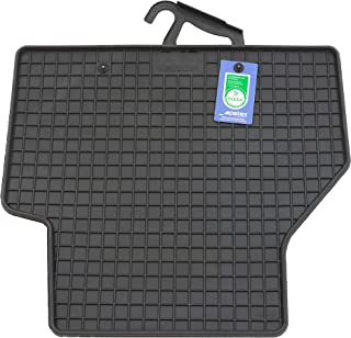 PETEX Rubber mats suitable for Caddy V from 11/2020 rear black 2-piece set
