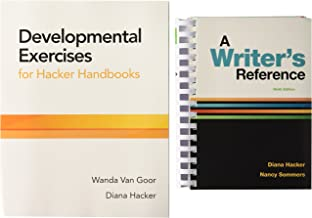 A Writer's Reference 9e and Developmental Exercises for Hacker Handbooks