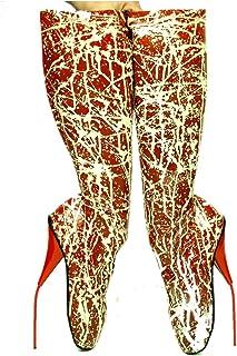 tienda Fashion Style Bolingier Bolingier Bolingier Poland - botas de Caucho para Mujer rojo-blanco  venta de ofertas