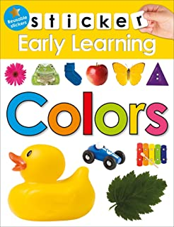 Sticker Early Learning: Colors: With Reusable Stickers