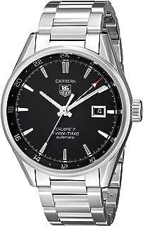 Men's WAR2010.BA0723 Carrera Analog Display Swiss Automatic Silver Watch
