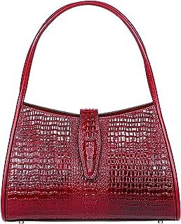 بيجوشي مصمم الكتف المحافظ هوبو حقائب للنساء الجلود حمل حقائب الكتف