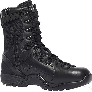 TACTICAL RESEARCH TR Men's QRF Alpha B9Z1 Hot Weather Tactical Side-Zip Boot Plain Toe, Polishable