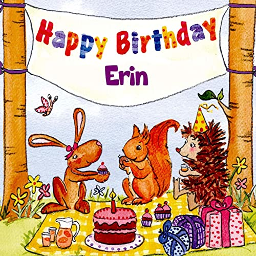 Happy Birthday Erin By The Birthday Bunch On Amazon Music Amazon Com