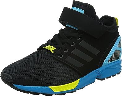 Adidas - ZX Flux Nps Mid - Couleur: Bleu-Jaune-Noir - Pointure ...