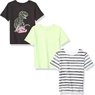 Spotted Zebra 3-Pack Short-Sleeve T-Shirts Niños, Pack de 3