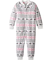 P.J. Salvage Kids - Snow Bunny One-Piece Pajama (Toddler/Little Kids/Big Kids)