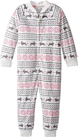 Snow Bunny One-Piece Pajama (Toddler/Little Kids/Big Kids)