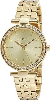ESPRIT Women's Fashion Quartz Watch - ES1L153M1035; Golden