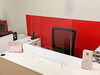 Mampara de protección - Mostrador, oficina, comercio, restaurante - Metacrilato transparente - 65x60cm