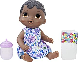 Baby Alive Lil SIPS Baby HAS-E0308-AX00 Lil Sips Baby Girl Doll