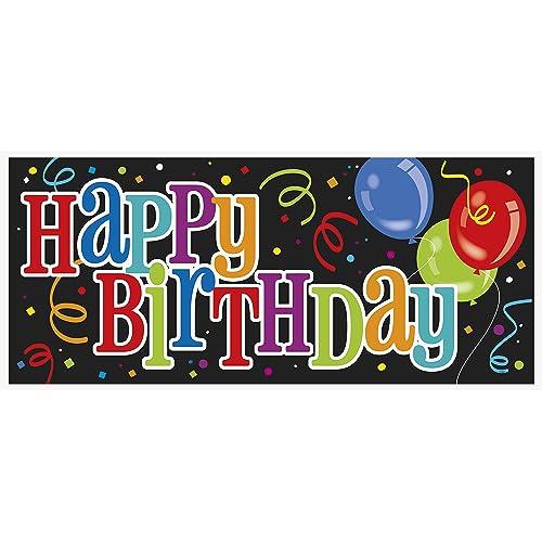 Happy Birthday Wall Banner