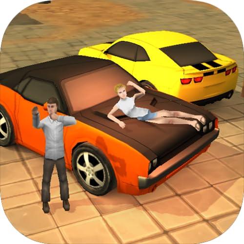 Classic Car 3D City Racing