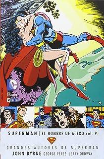 Grandes Autores de Superman: John Byrne - Superman: El hombre de acero vol. 9