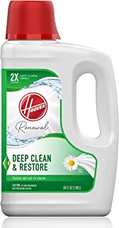 Hoover Renewal Deep Cleaning Carpet Shampoo, Concentrated Machine Cleaner Solution, 64oz..