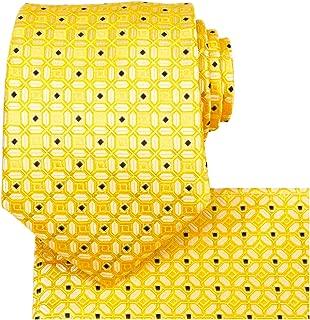 Men's Handmade Tie,Fortune Lucky Pattern Necktie With Gift Box