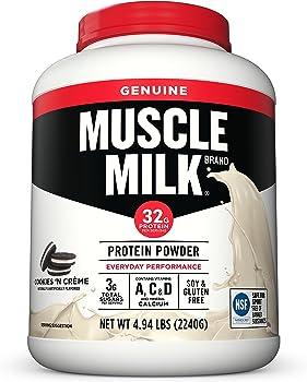 Muscle Milk Genuine Protein Powder 4.94 Pound