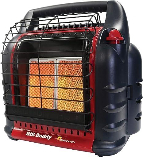 Mr. Heater MH18B Propane Heater, Red: image