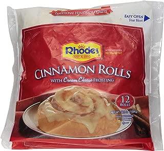 Rhodes, Cinnamon Rolls with Cream Cheese Frosting, 12 rolls, 36.5 oz (Frozen)