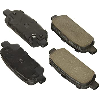 Centric 105.0741 Posi-Quiet Ceramic Brake Pad with Shims