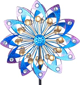 Wind Spinner, Wind Sculpture is Suitable for Decoration Metal Windmill for Outdoor Yard Patio Lawn & Garden
