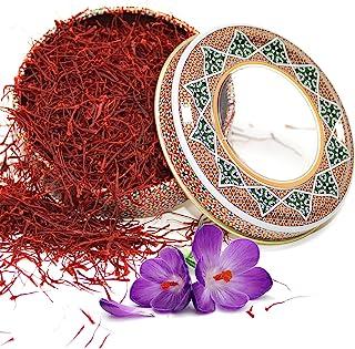 Zand Persian Saffron Threads – Premium Grade 1 Saffron Spice for Cooking Basmati Rice, Paella, Risotto and More – in Decor...