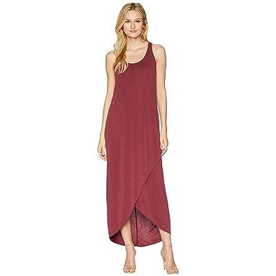 NIC+ZOE Relax Ride Dress (Washed Raisin) Women