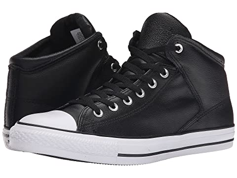 28b2260357a23a Converse Chuck Taylor® All Star® Hi Street Leather at Zappos.com