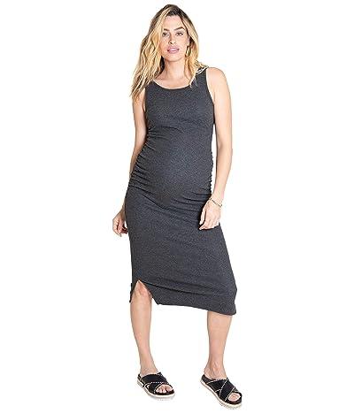 Ingrid & Isabel Maternity Rib Tank Midi Dress