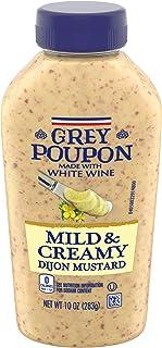 Sponsored Ad - Grey Poupon Dijon Mild & Creamy Mustard (10 oz Squeeze Bottles, Pack of 8)